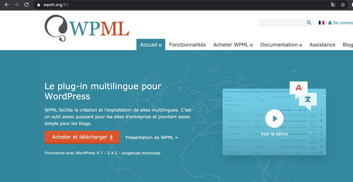 WPML fr