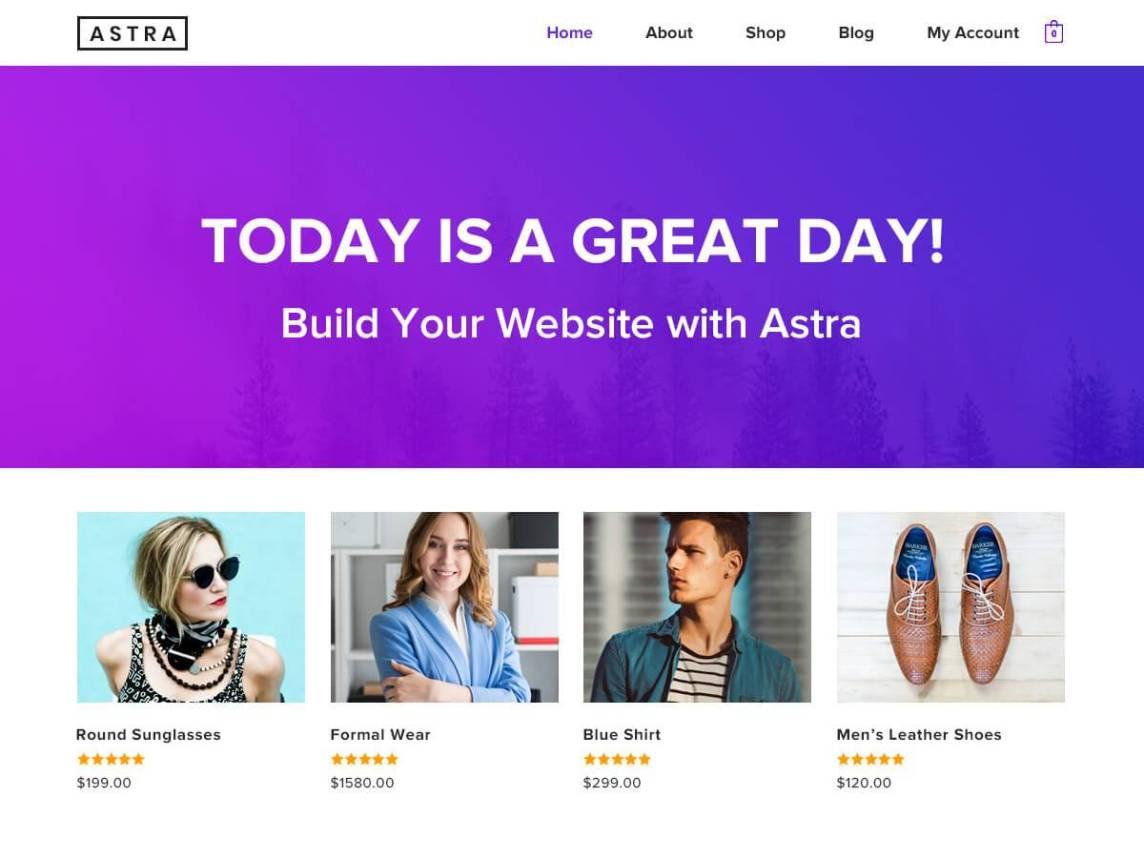 超過40萬網站架設的WordPress佈景主題推薦-Astra