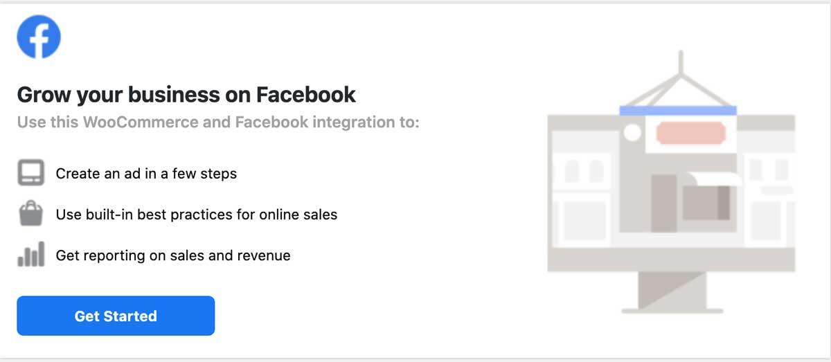 啟用 Facebook for WooCommerce