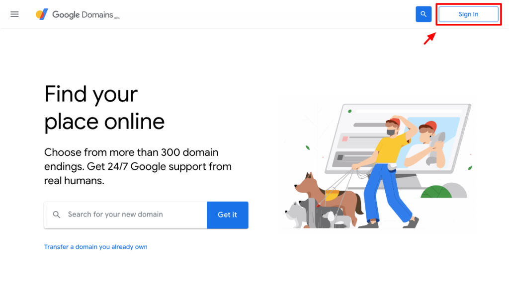 google domains教學:註冊登入