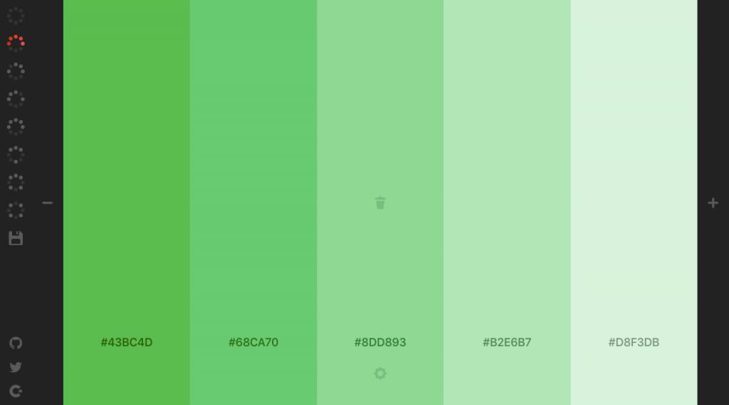 網頁配色網站:Colourcode