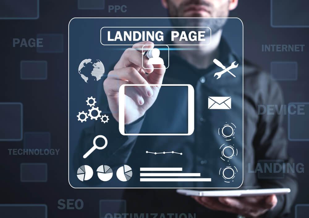 Landing page概念